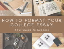 Content how to format your college essay