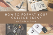 Small how to format your college essay